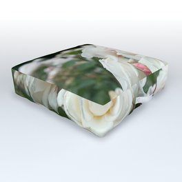 Field of Roses Outdoor Floor Cushion