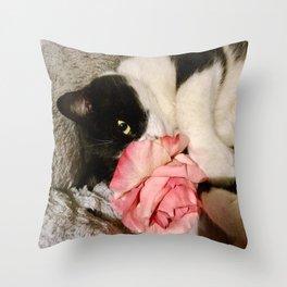 Sweet Orazio Throw Pillow