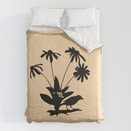 Maryland - State Papercut Print Comforters