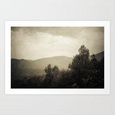 Mountain Wilderness Art Print