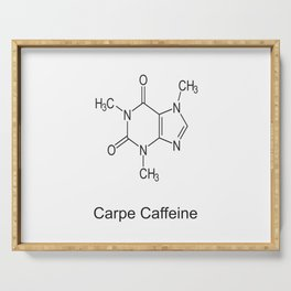 Carpe Caffeine Serving Tray