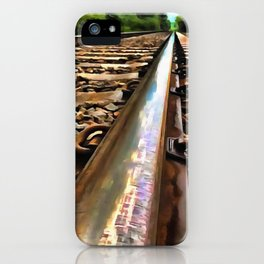 Down The Line iPhone Case