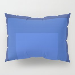 Block Colors - Blue Pillow Sham