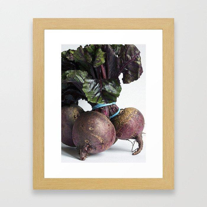 Beetroot Framed Art Print