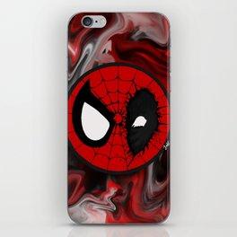 Superhero mashup iPhone Skin