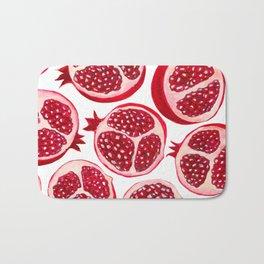 Pomegranate pattern Bath Mat