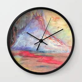 Preying for You Wall Clock