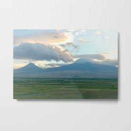 Shy Ararat (Armenian Trip) Metal Print
