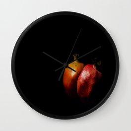 Autumn Pomegranate Wall Clock
