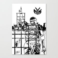 Knicks Liberty Canvas Print