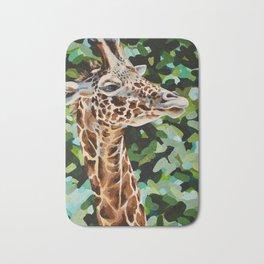 Masai Giraffe Bath Mat