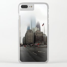 City of Brotherly Love Clear iPhone Case