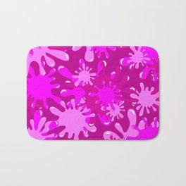 Slime in Hot Pinks Bath Mat