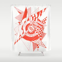 Ember Shower Curtain