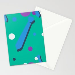 Necktie Coolers Stationery Cards