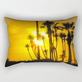 Tall Palms Rectangular Pillow