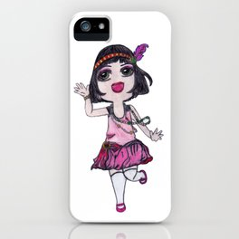 Chibi Flapper iPhone Case