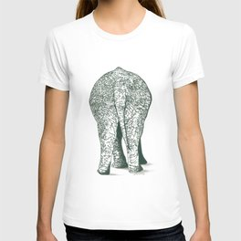 Southern End of a North Bound Elephant T-shirt