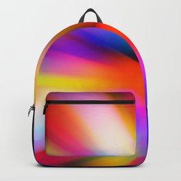 Blurred multi color lights Backpack