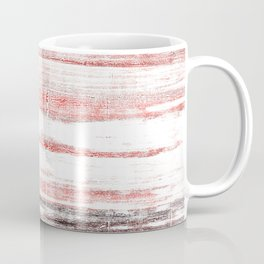 Black red abstract Coffee Mug