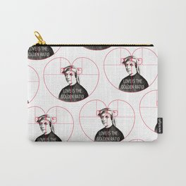 """""""Love is the Golden Ratio"""" Carry-All Pouch"""