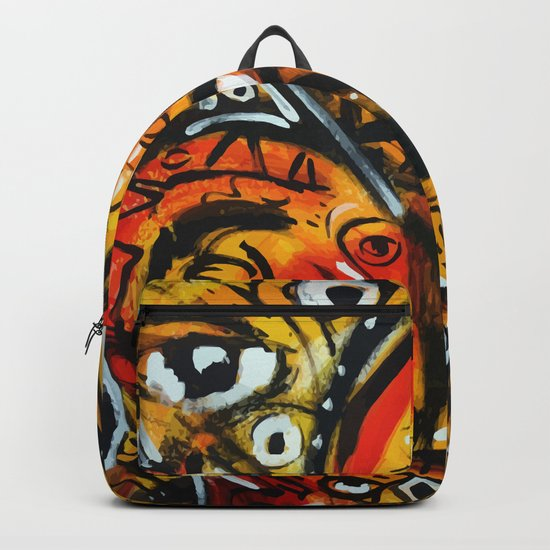 The third eye expressionist art Backpack