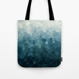Ice Blue Mountains Moon Love Tote Bag