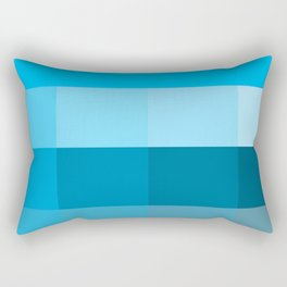 Multiple of Blue Rectangular Pillow