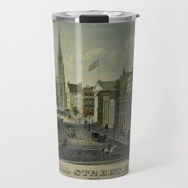 Wall Street 1847 Travel Mug