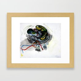 Foreign Object 01  Framed Art Print