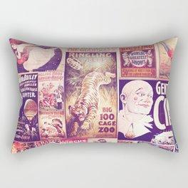 Circus Collage 2 Rectangular Pillow