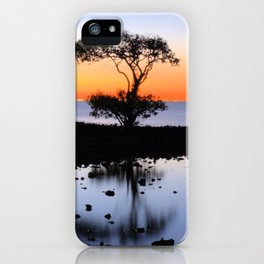 Cleveland Point Sunset iPhone Case