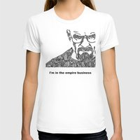 walter white T-shirts featuring Walter White by christoph_loves_drawing