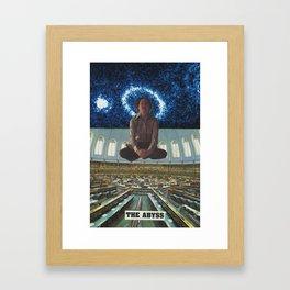 """THE ABYSS"" Framed Art Print"