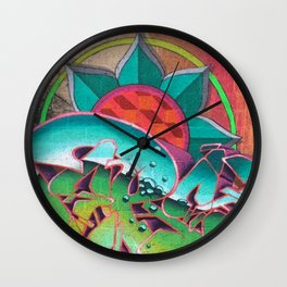 """""""Dances with waves"""" Wall Clock"""
