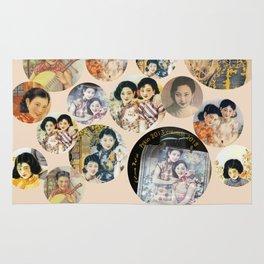 Beijing 6576 Asian vintage atmosphere with women Rug
