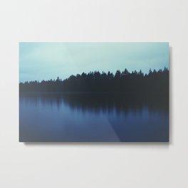Calm Reflection Metal Print