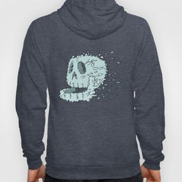 Bubble Skull - Beneath the waters surface lurks a skull in search of it's destiny Hoody
