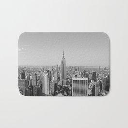 New York City Skyscrapers Bath Mat