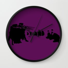 three fitty Wall Clock