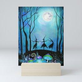 Halloween Dance Mini Art Print