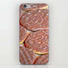 Chocolate Digestive Biscuits iPhone Skin