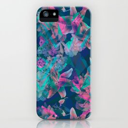 Geometric Floral iPhone Case