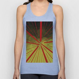 Yellow Complex Abstract Unisex Tank Top