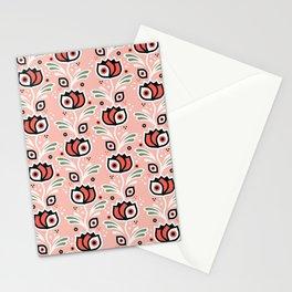 One-Eyed Tulips – Rose Stationery Cards