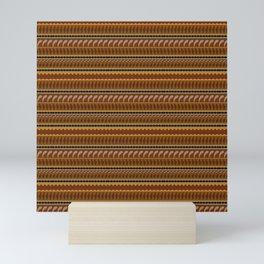 Shamanic pattern Mini Art Print