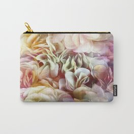 Soft Pastel Petal Ruffles Abstract  Carry-All Pouch