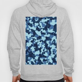 Camouflage Blue Hoody
