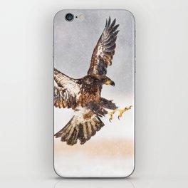 eagle attack #society6 #decor #buyart iPhone Skin