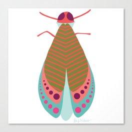 Fall Moth Canvas Print